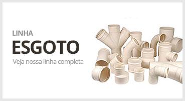 Imagem Tubos e conexoes de esgoto